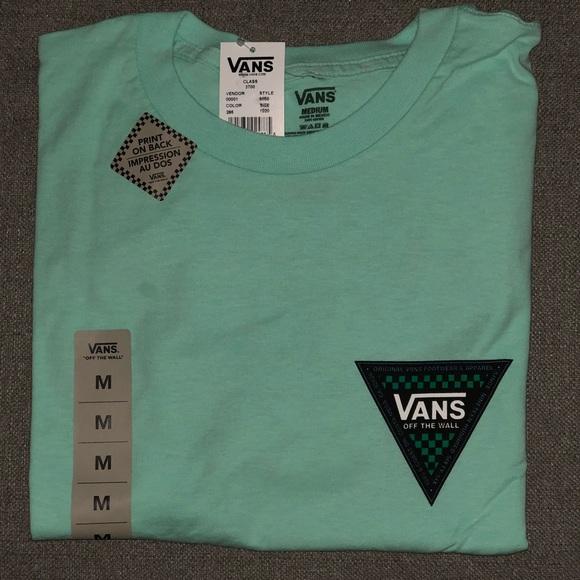 79c0f296be2b28 Vans OTW Mint Corner Edge Men s T-Shirt Size M